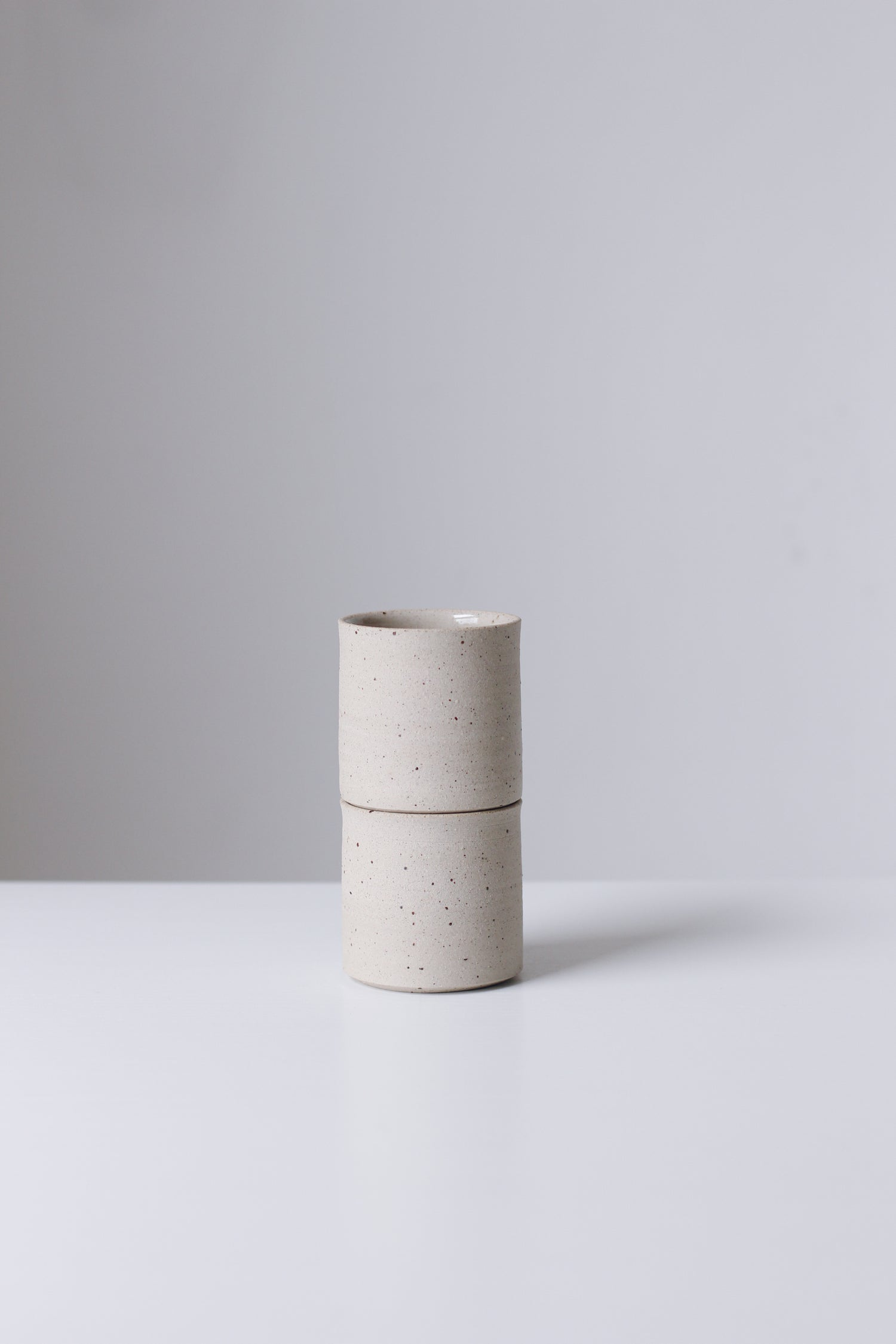 Image of Pair of Flecked Tumblers