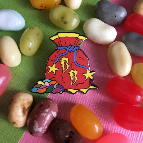 Image of Bag of Beans Pin