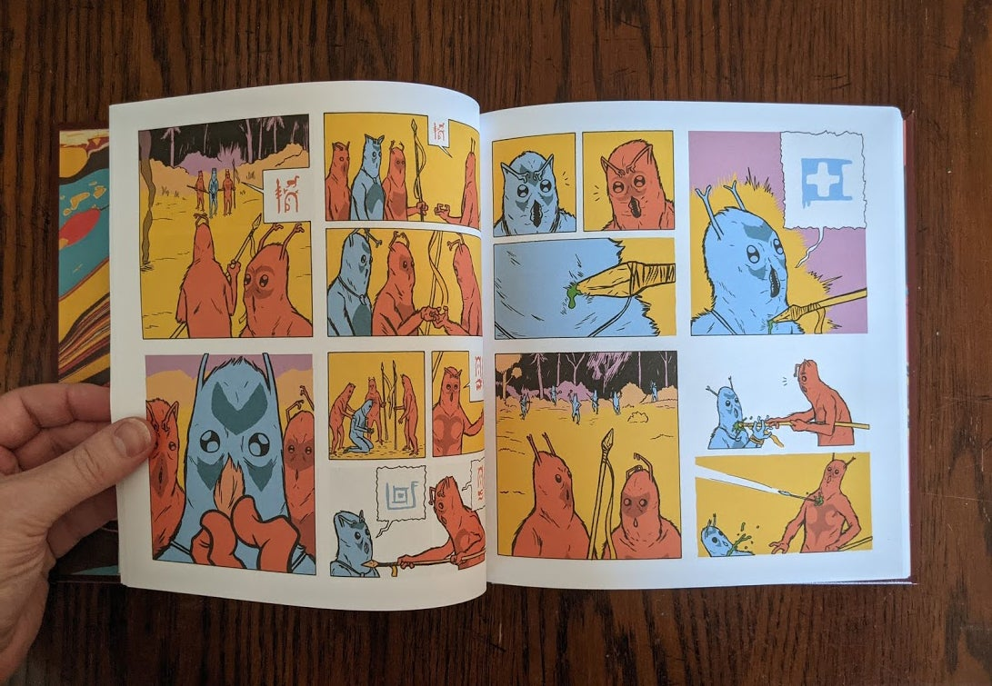 Image of Anasazi - Hardcover Graphic Novel