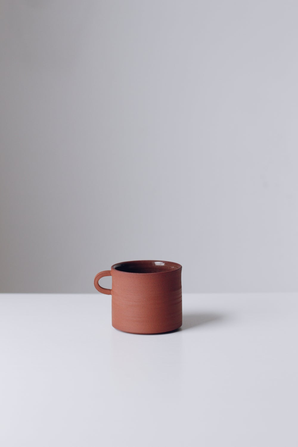 Image of Terracotta Cup with Handle