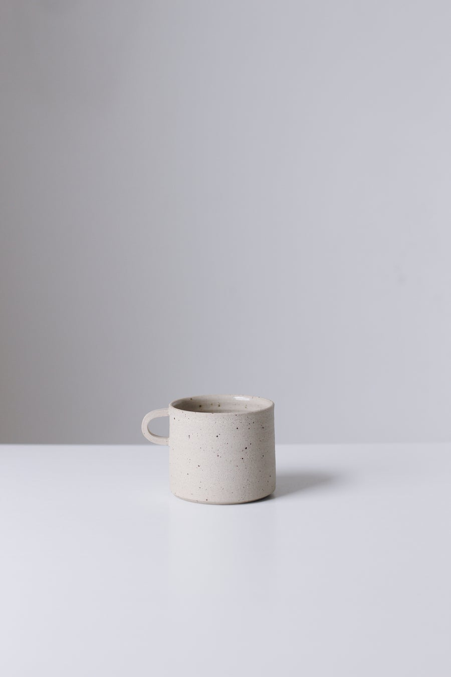 Image of Flecked Cup with Handle