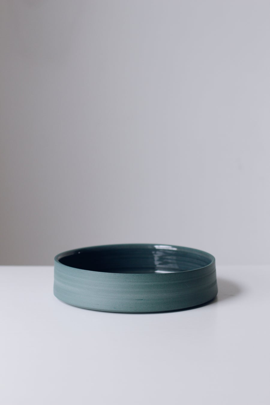 Image of Teal Serving Platter