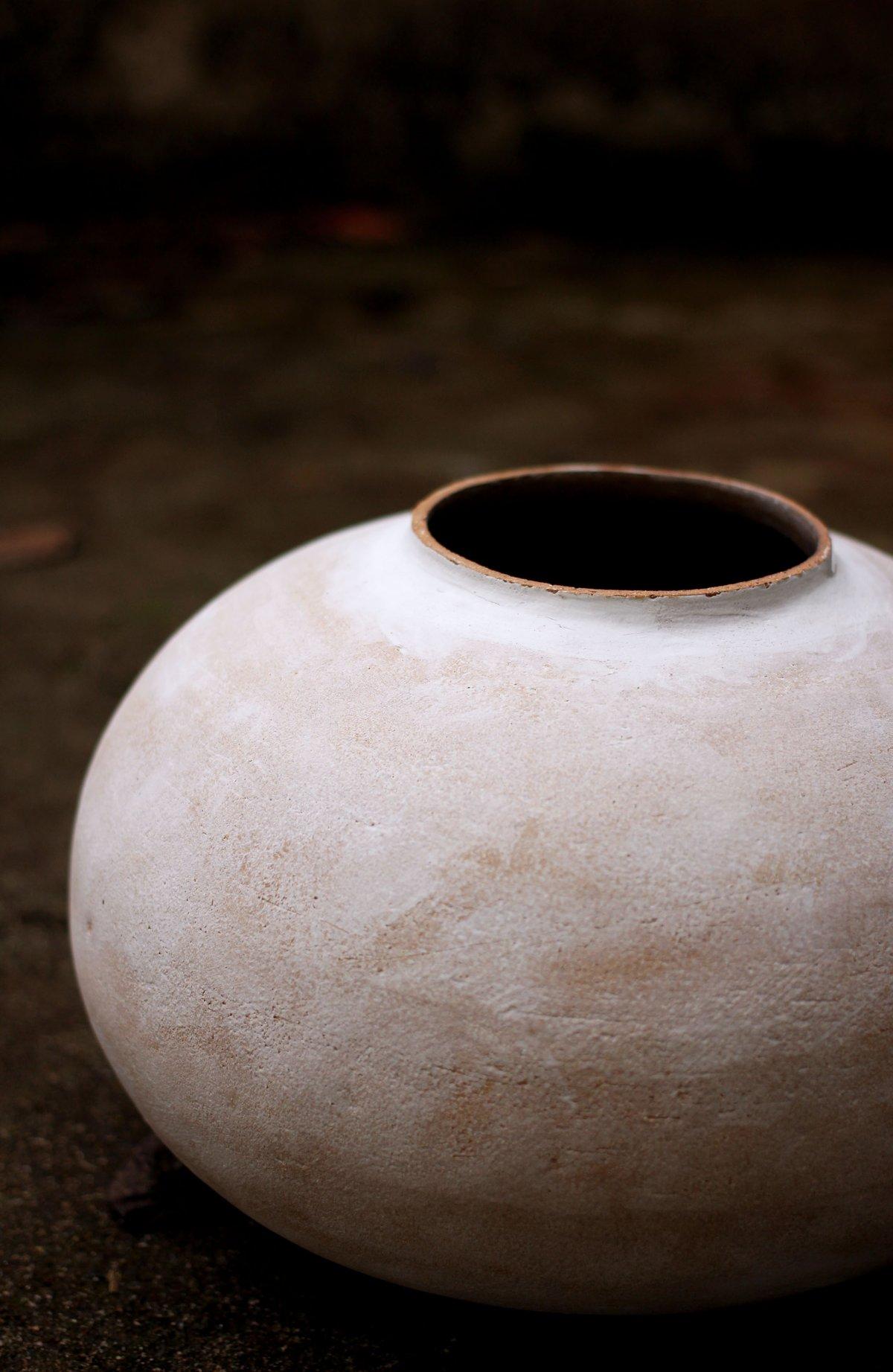 Image of Sculpture Moon Jar (n°8)
