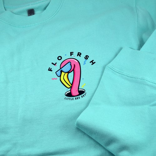 Image of Flamingo 'Hole in One' Crew Neck