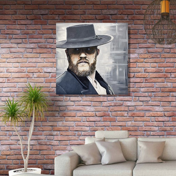 Image of MR. SOLOMONS (3x3ft or 2x2ft Canvas Print)