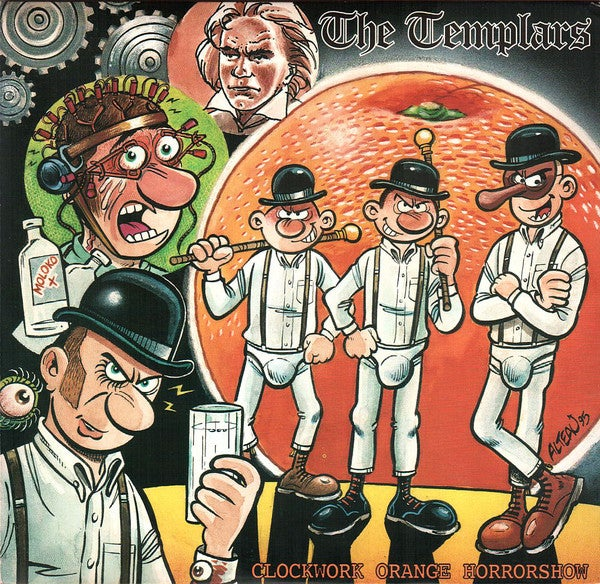 Image of THE TEMPLARS - Clockwork Orange Horrorshow LP