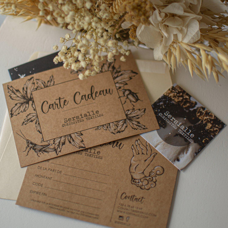 Image of Carte Cadeau