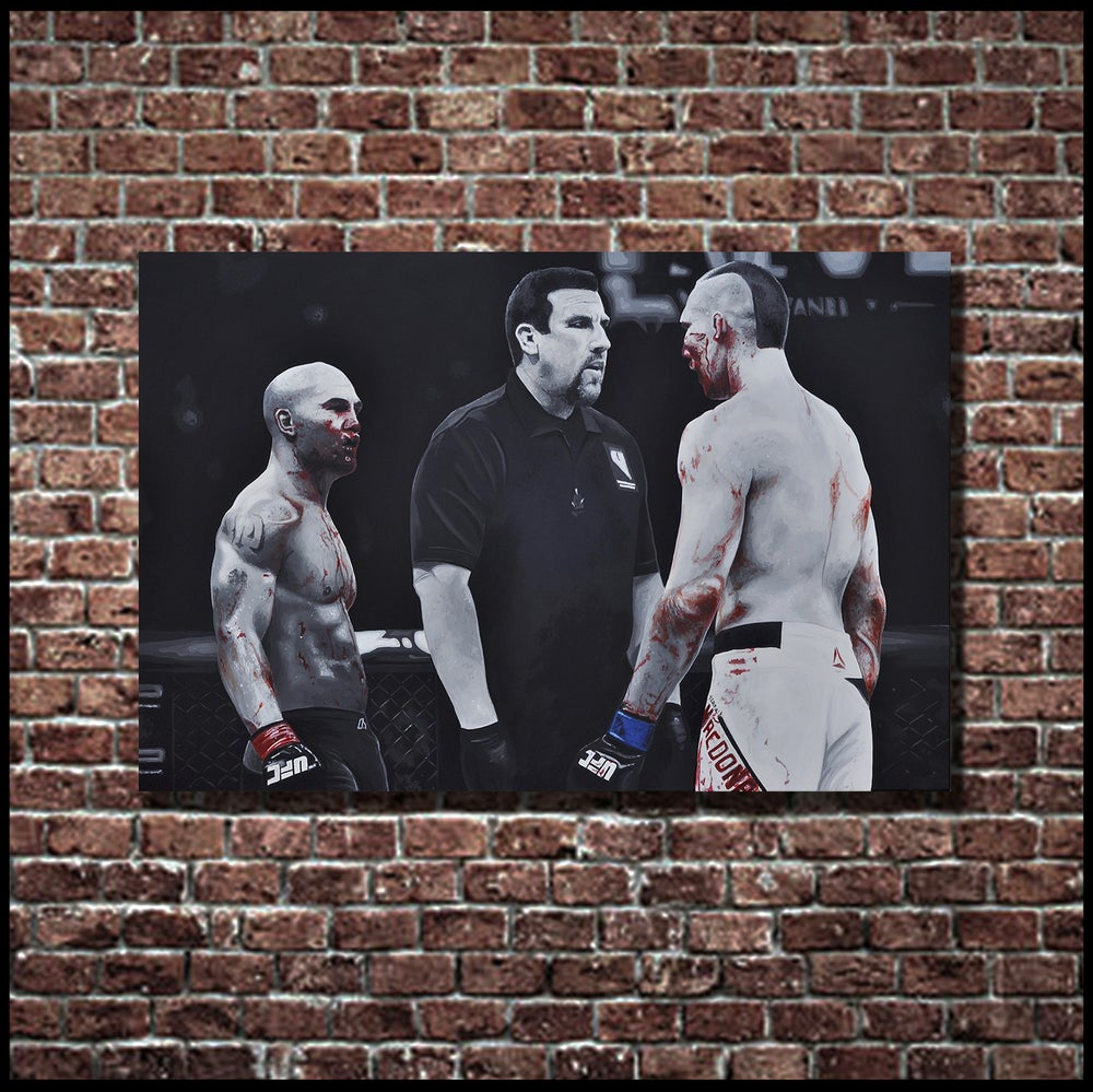 Image of BLOODSPORT (3x2ft canvas print)