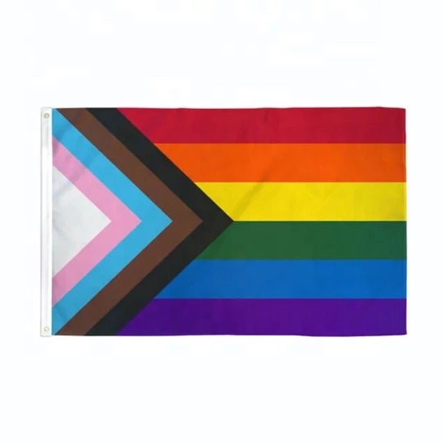 Image of Progressive Pride Flag