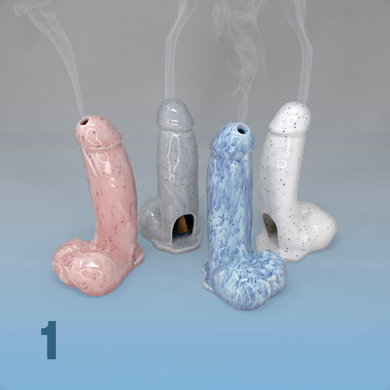 Image of Spotted Dick Incense Burner