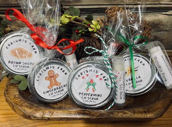 Image of Lip balm/lip scrub gift sets