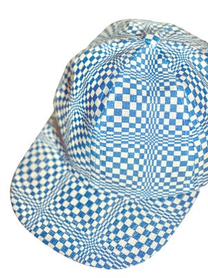 Image of Checkers in blue