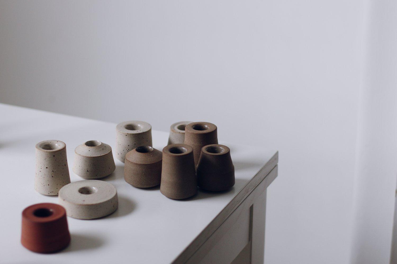 Image of Stacking Candleholder #1