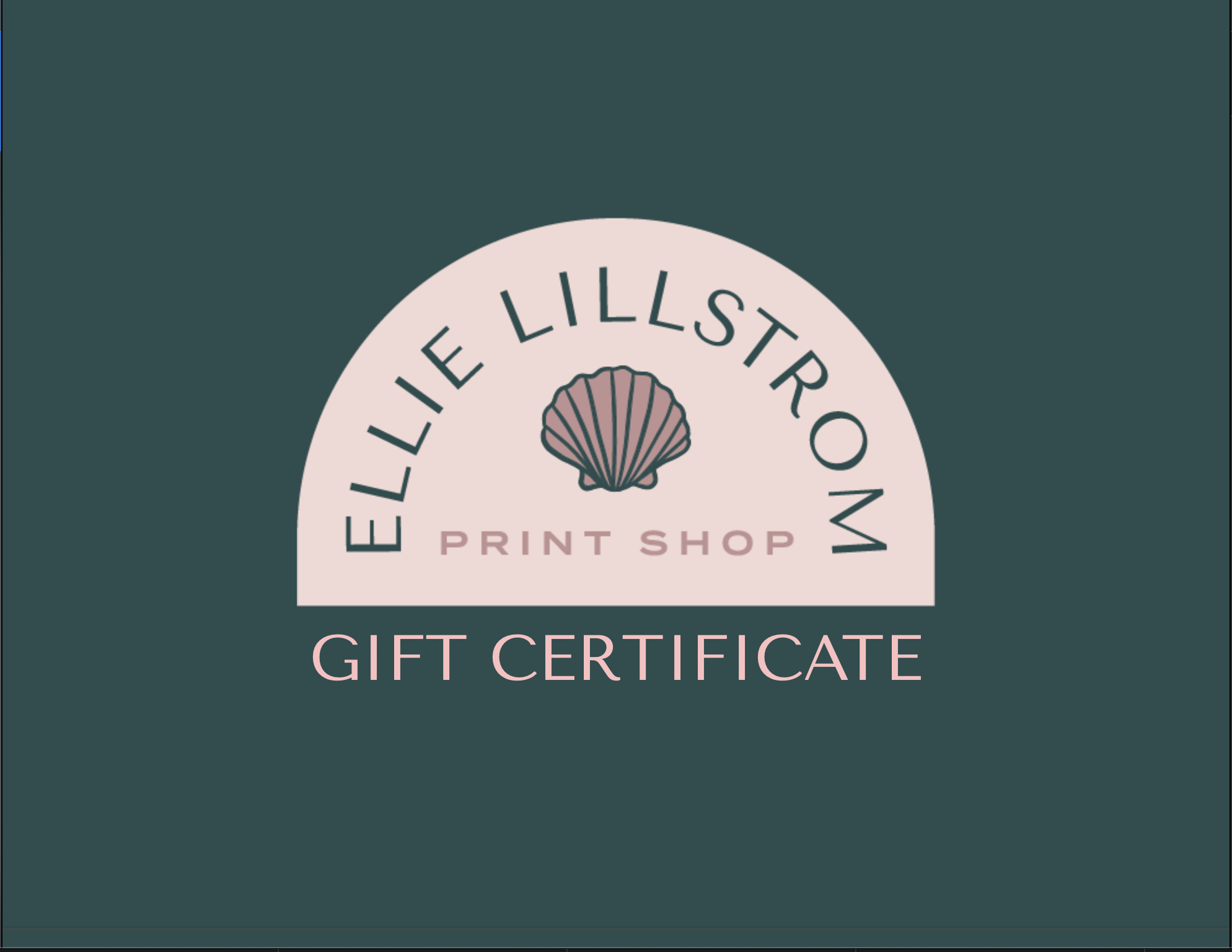 Image of ELPS GIFT CERTIFICATE