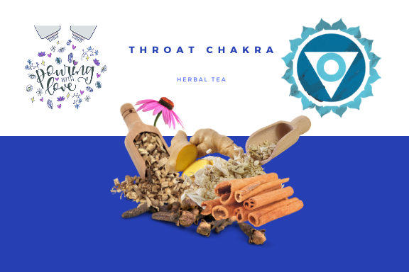 Image of throat chakra herbal tea