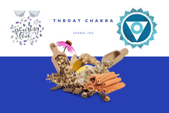 Image of throat chakra herbal tea