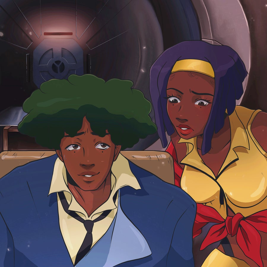 Image of Spike and Faye
