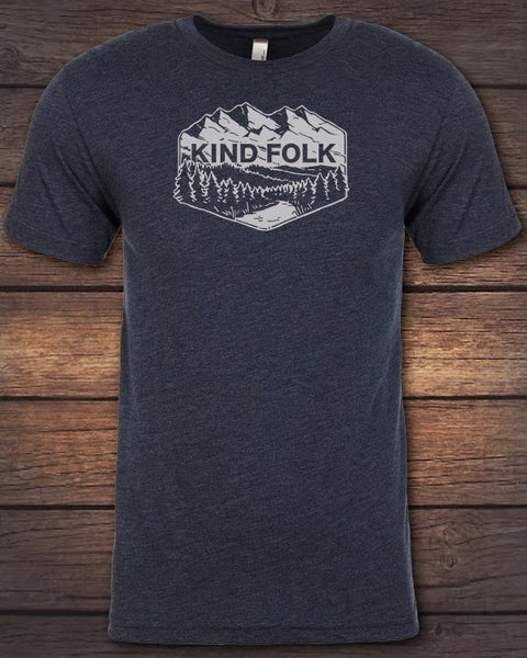 Image of Kind Folk Emblem Tee (Unisex)