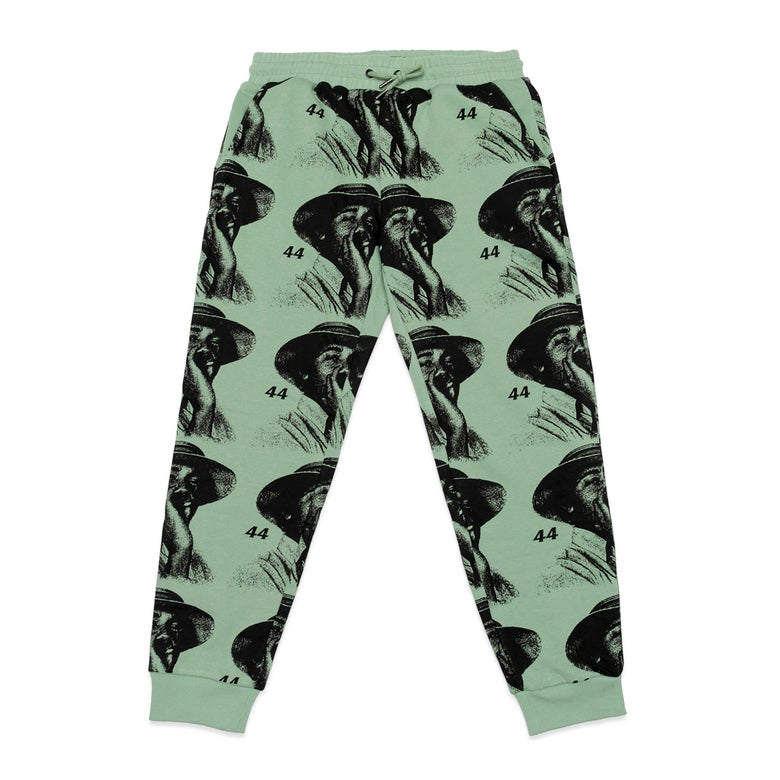 Image of Baby, Come Back Sweatpants (Washed Olive/Black)