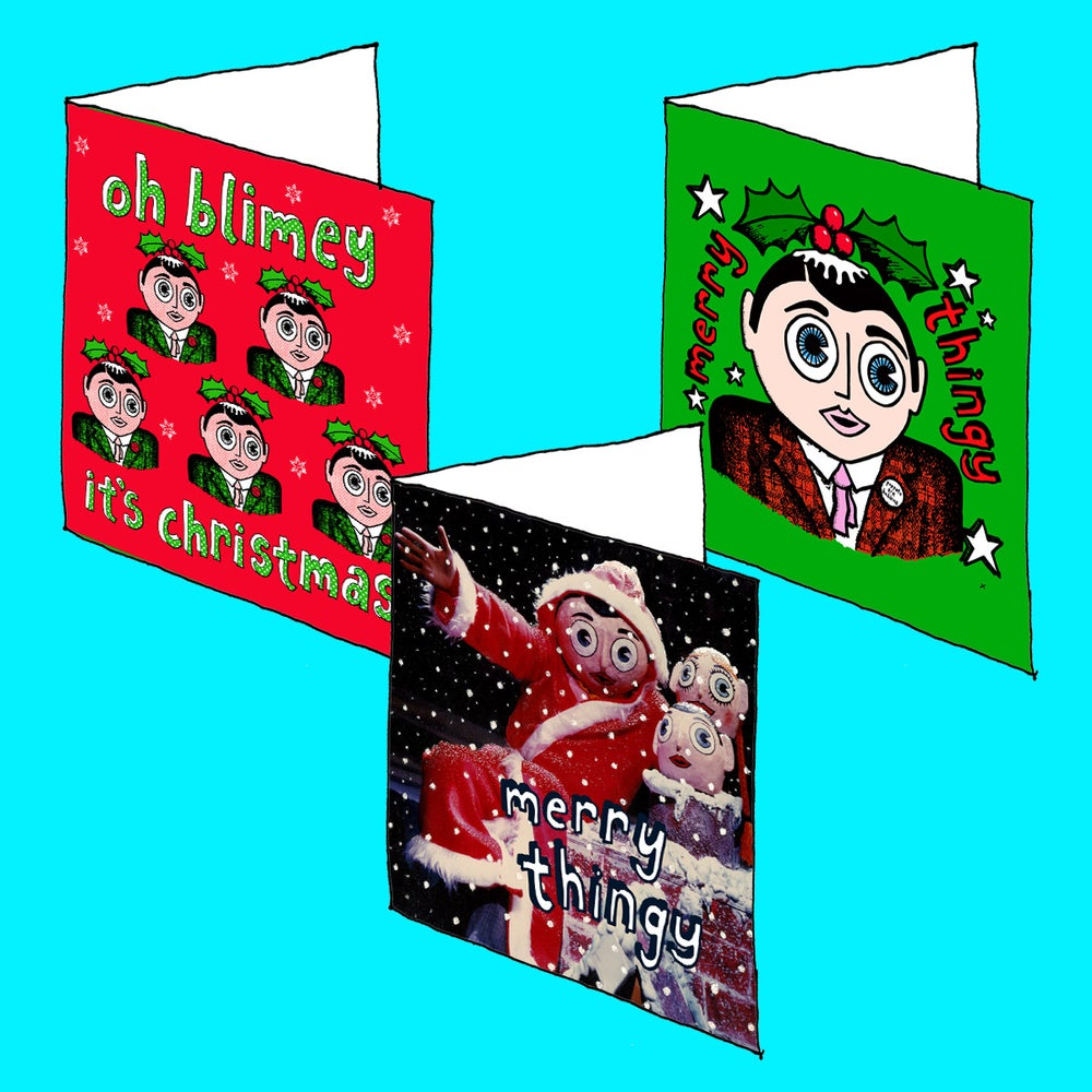 Image of Pack of 6 Xmas Cards