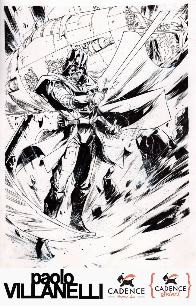 Image of Paolo Villanelli Commission (Mail Order) List Open Thursday 12/3/20 at 3PM EST