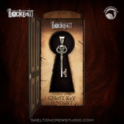 Image of Locke & Key: Sterling Silver Ghost Key Pendant!