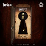 Image of Locke & Key: Sterling Silver Head Key Pendant!