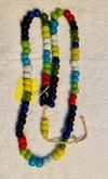 Ghana Byfal Glass Beads necklace