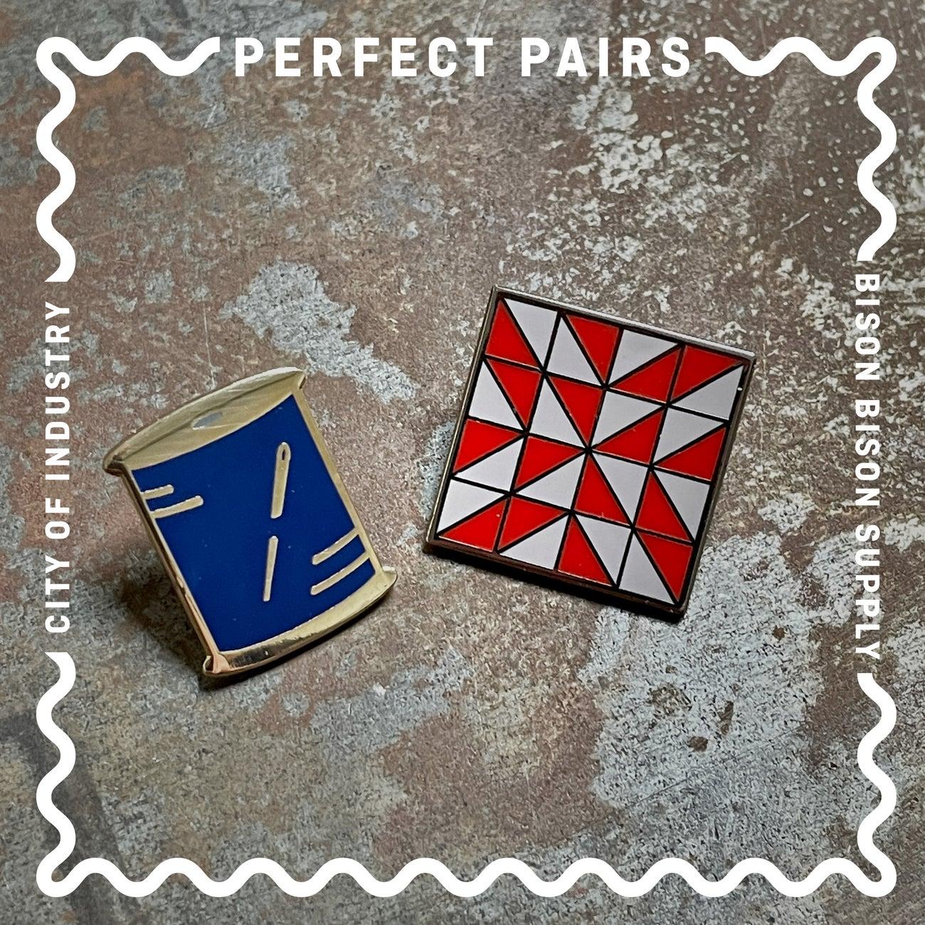 Image of Perfect Pairs: Thread + Quilt Block