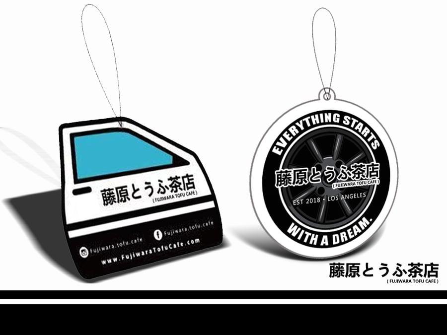 Image of 藤原とうふ茶店 Fujiwara Tofu Cafe Air Fresheners Combo