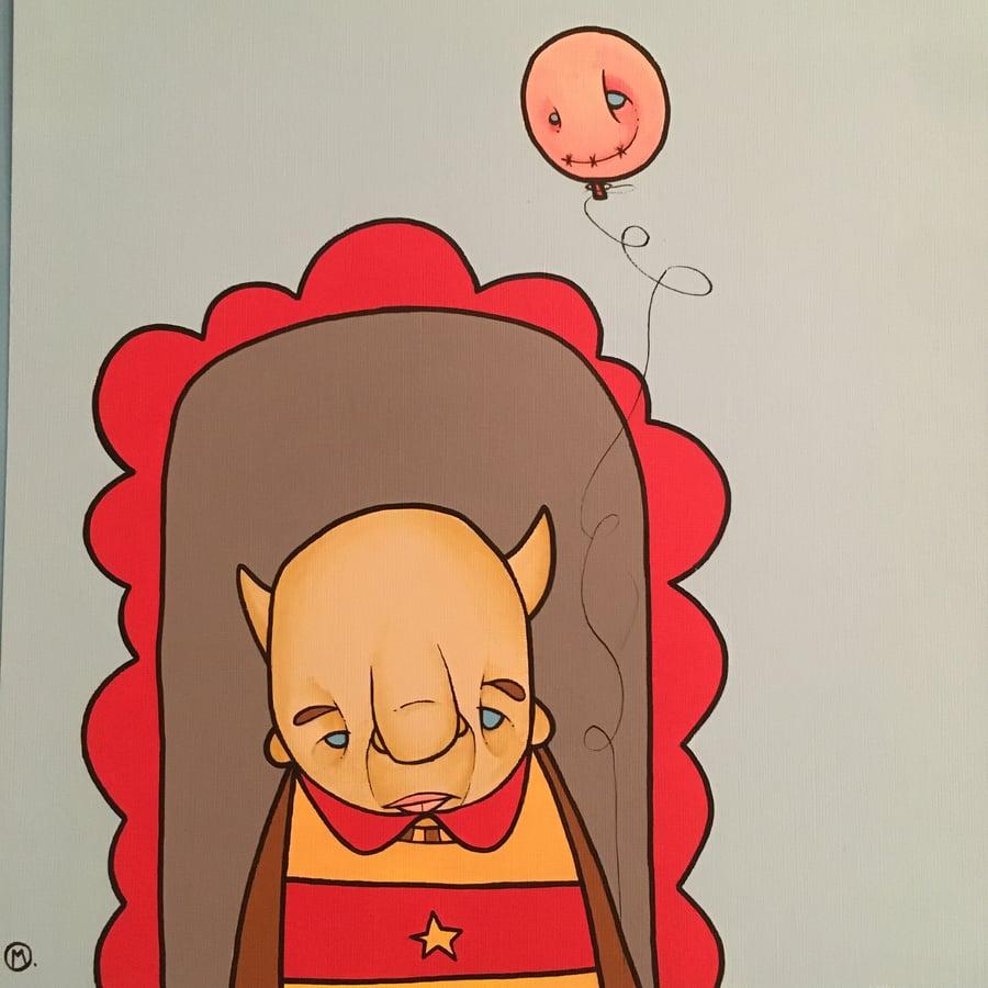 Image of Grumpy Balloon Guy
