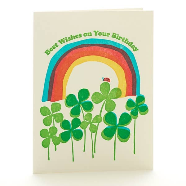 Image of Best Wishes Birthday Card