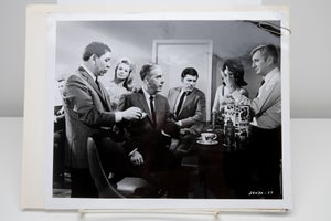 """Image of VTG 1967 Official Dragnet Letterhead and matching TV Series Show Publicity Photo """"Crooked Gamblers"""""""