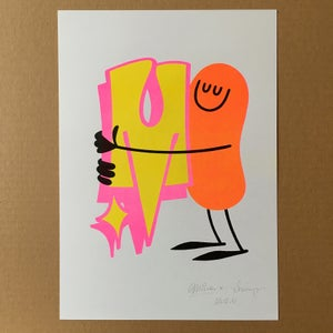 Image of The M is Mine! - Risograph collaboration with Mina
