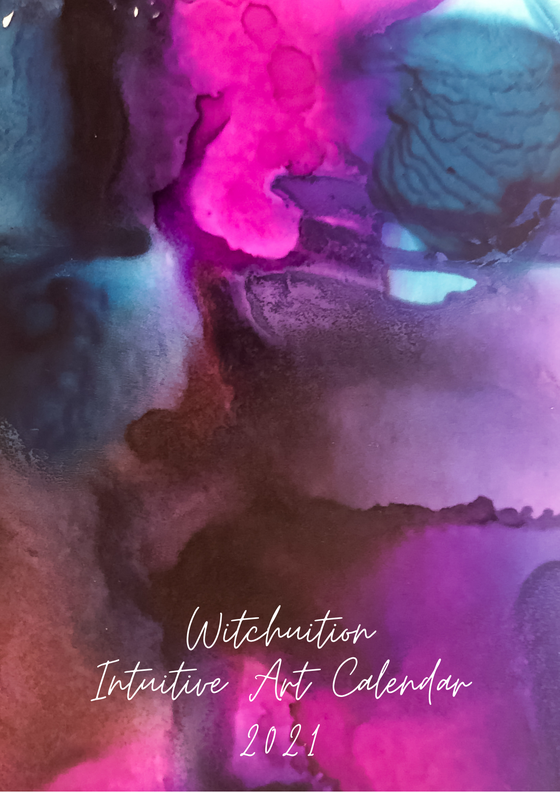 Image of Witchuition Intuitive Art Calendar 2021
