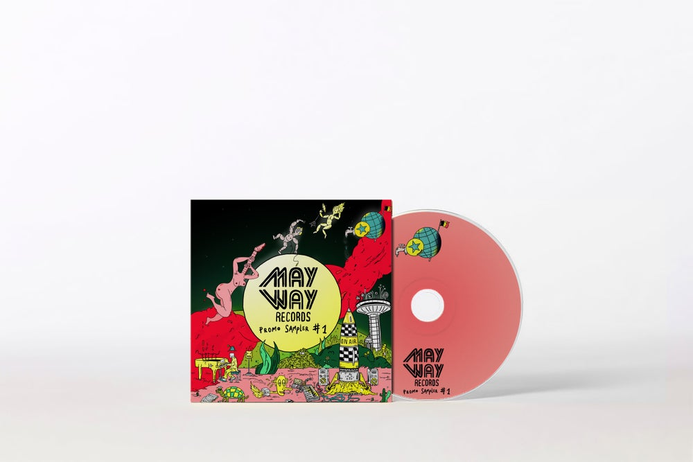 Image of Mayway Records SAMPLER CD #1 | COMES FREE WITH YOUR ORDER OF MIN. 15 EURO (not for sale separately)
