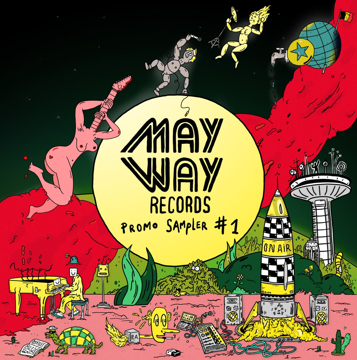 Image of Mayway Records SAMPLER CD #1   COMES FREE WITH YOUR ORDER OF MIN. 15 EURO (not for sale separately)