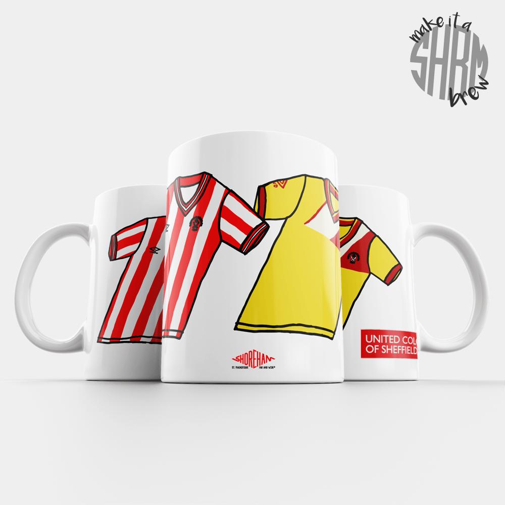 Image of United Colours of Sheffield 86/87 Mug