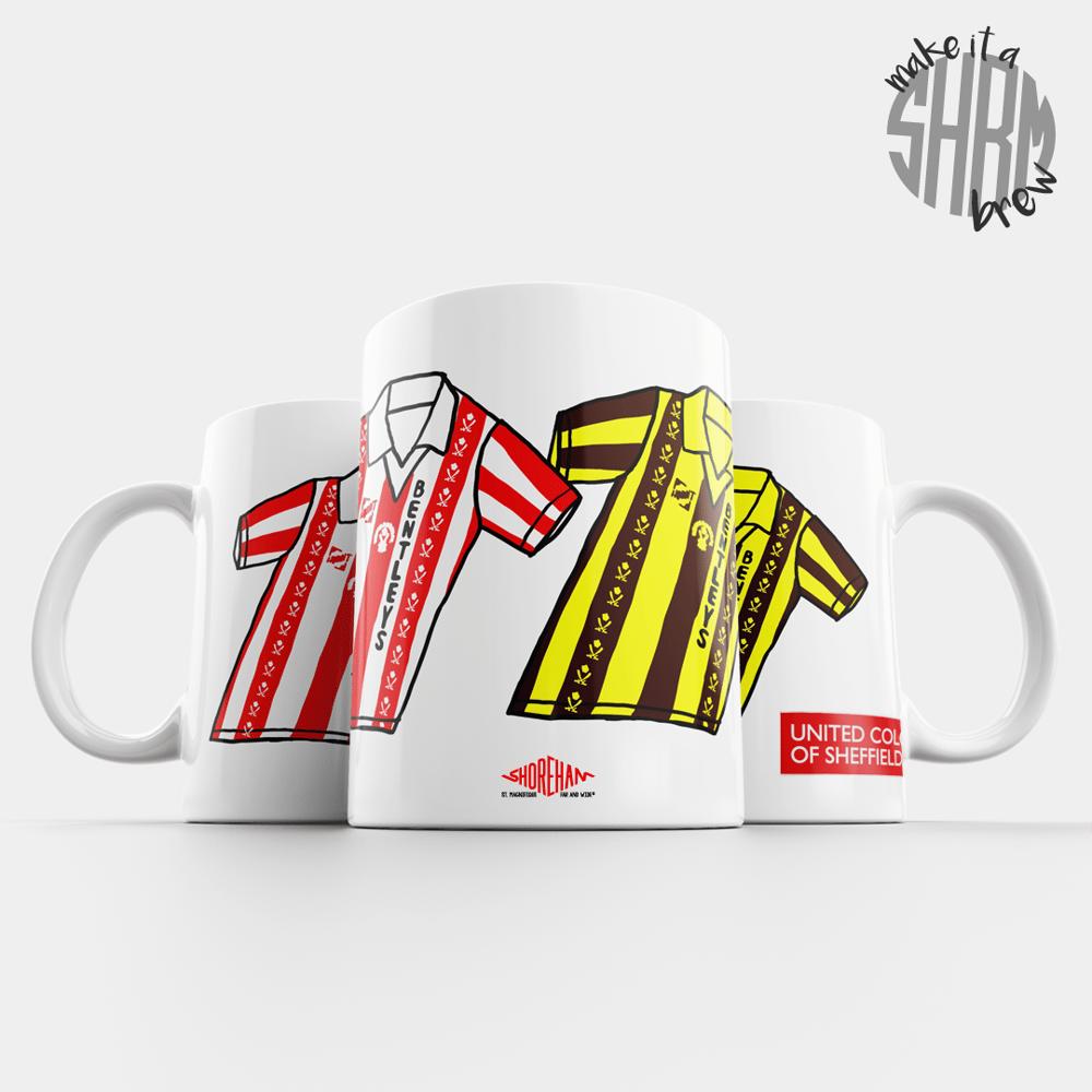 Image of United Colours of Sheffield 81-83 Mug