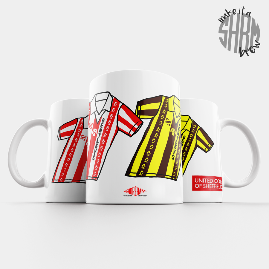 Image of United Colours of Sheffield 81-83 Mug