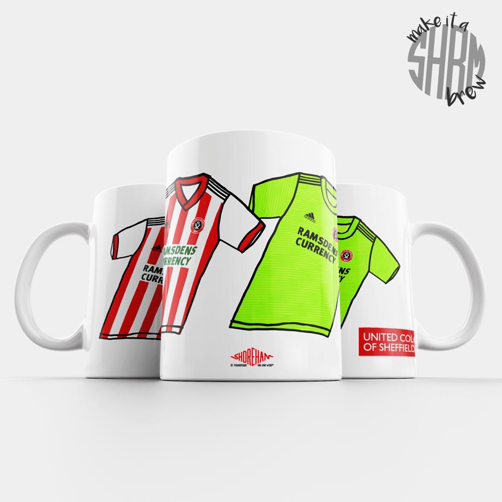 Image of United Colours of Sheffield 18/19 Mug