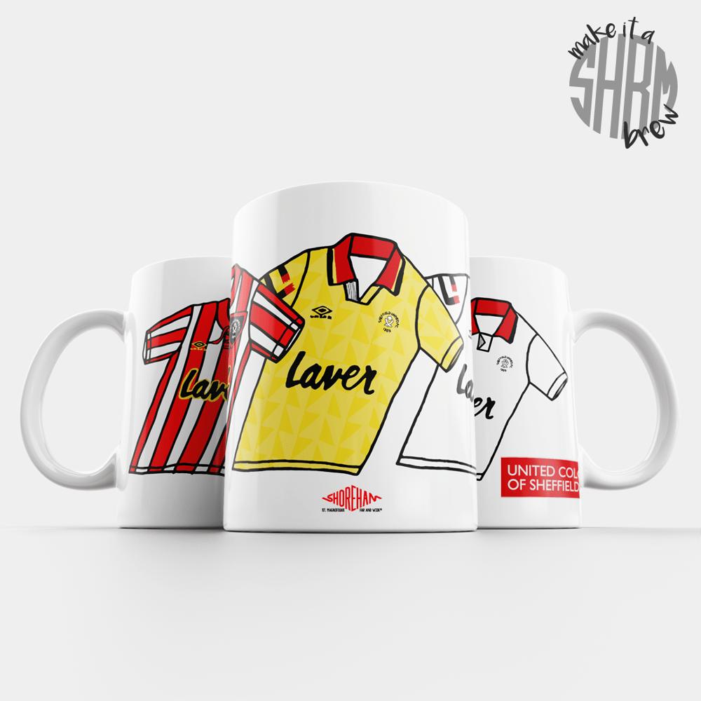 Image of United Colours of Sheffield 92/93 Mug