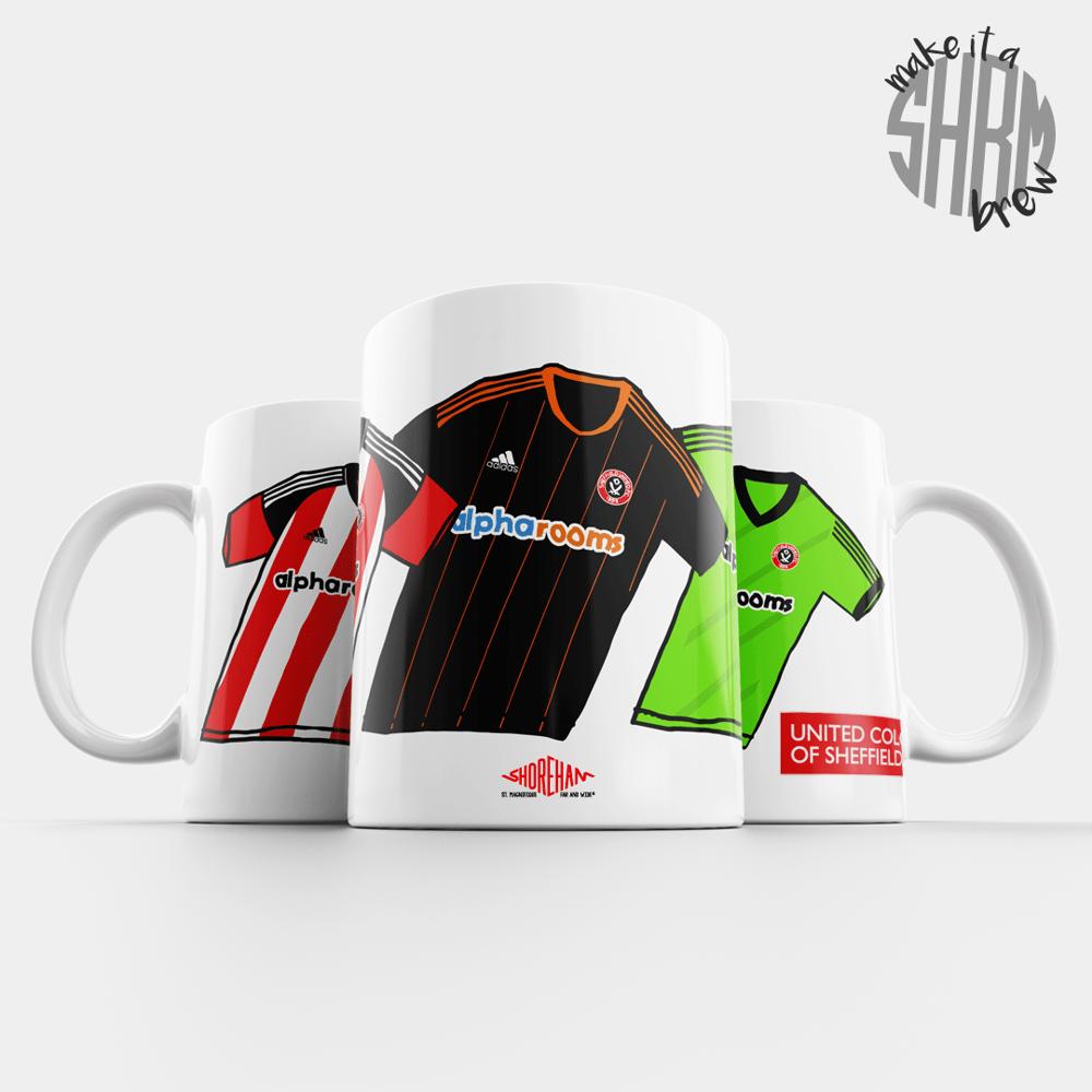 Image of United Colours of Sheffield 16/17 Mug