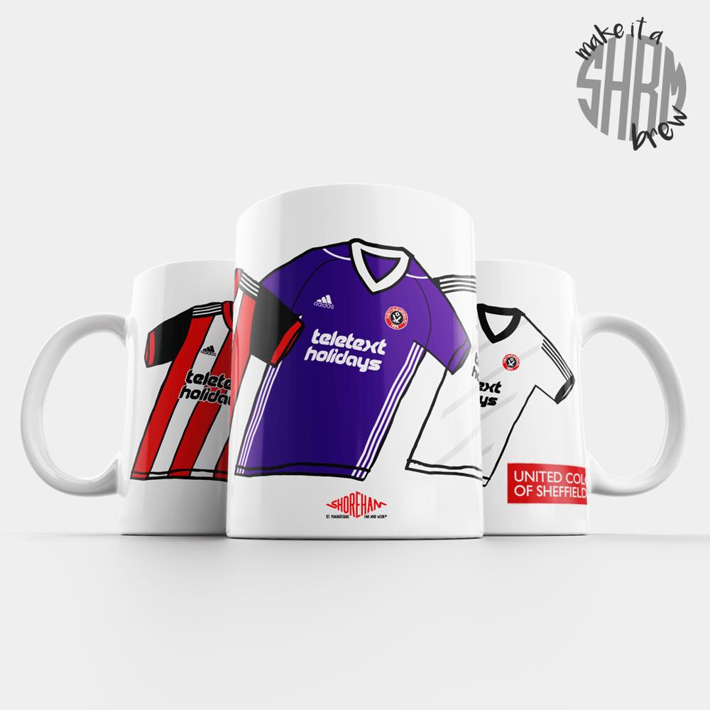 Image of United Colours of Sheffield 17/18 Mug