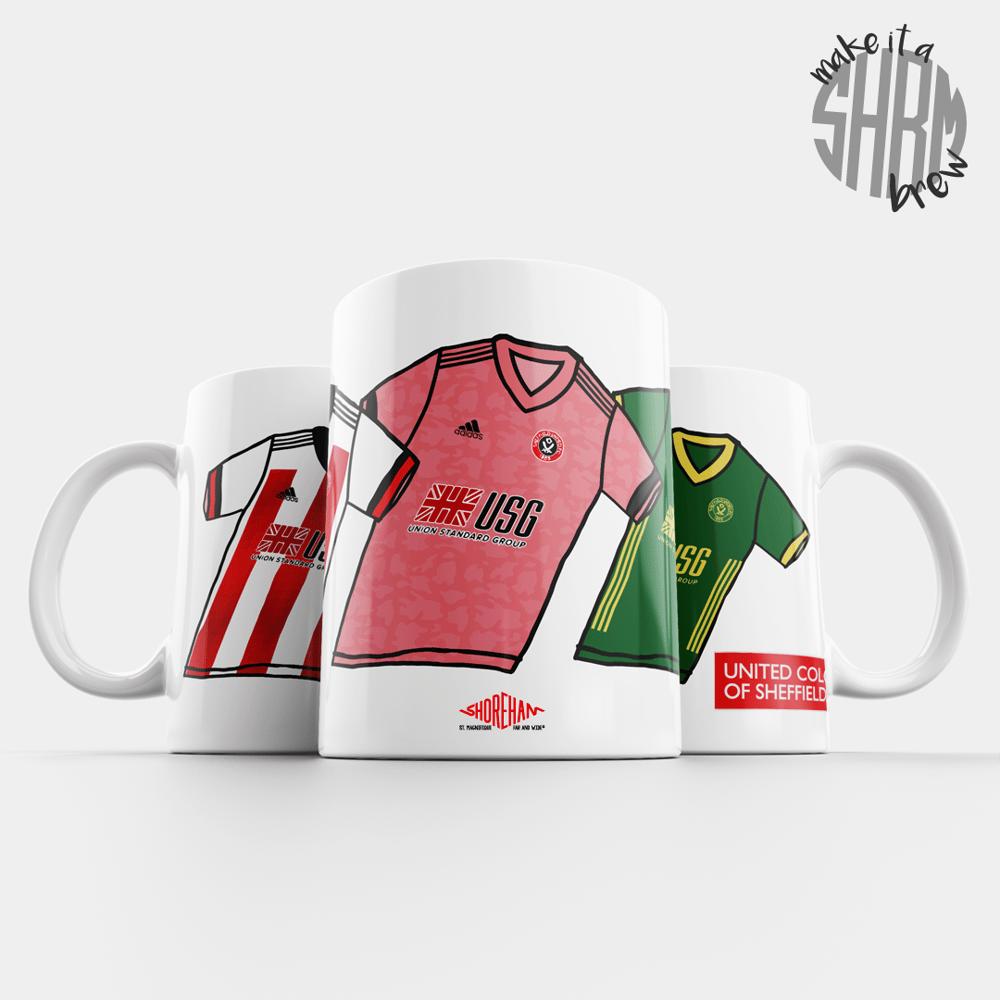 Image of United Colours of Sheffield 20/21 Mug