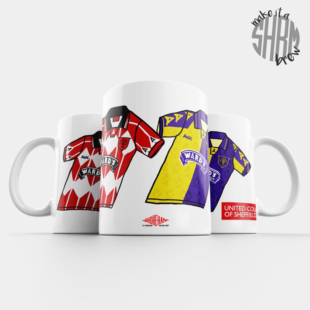 Image of United Colours of Sheffield 95/96 Mug