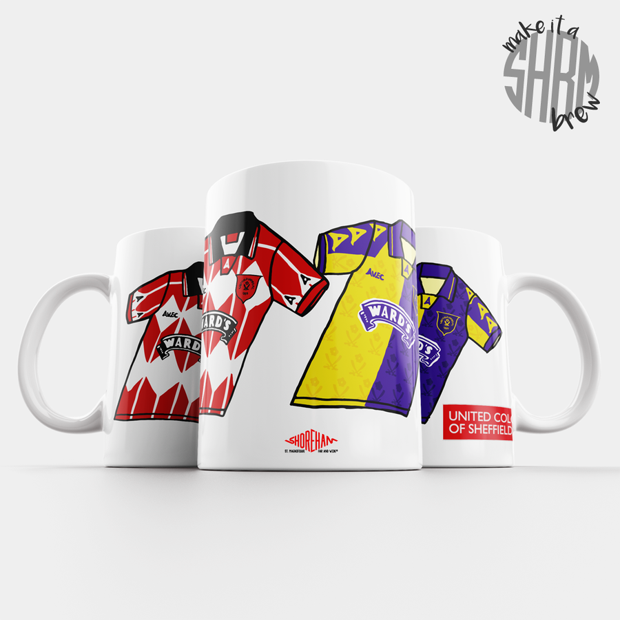 Image of United Colours of Sheffield 95/96 Mug