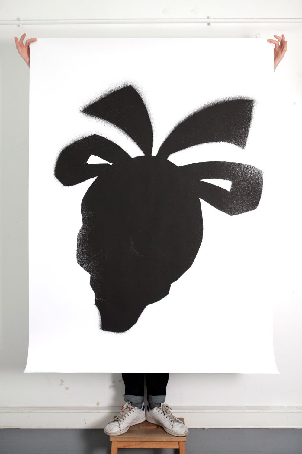Image of Black stencil - poster #1