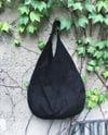 Suede soft hobo bag