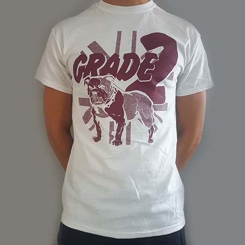 Image of Bulldog White | T-Shirt